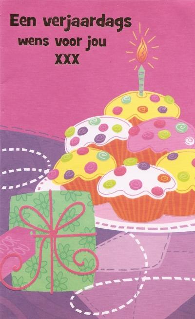 Verjaardagskaart, klik voor vergroting