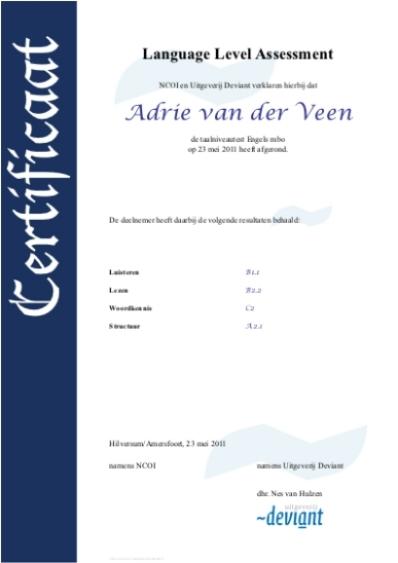 Afbeelding: certificaat rekenen, klik erop voor vergroting (pdf)